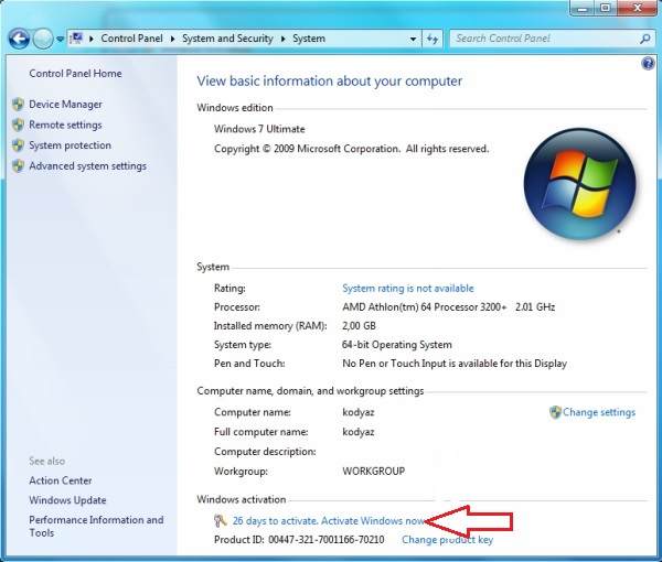 Windows 7 Product Key Free for You