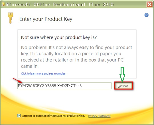 ms visio premium 2010 key