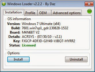 Download Windows Loader v2 2 2 by Dar Free 2019