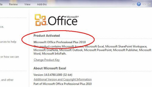 free download activator microsoft office 2010