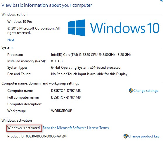 how to find windows 10 product key free