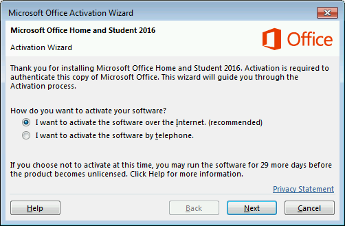 How to activate Microsoft Office 365 without product key