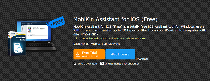 MobiKin Assistant for iOS Get Registration Code for Free