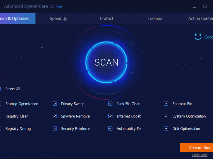 Free Advanced SystemCare Pro 12.6 Key 2019