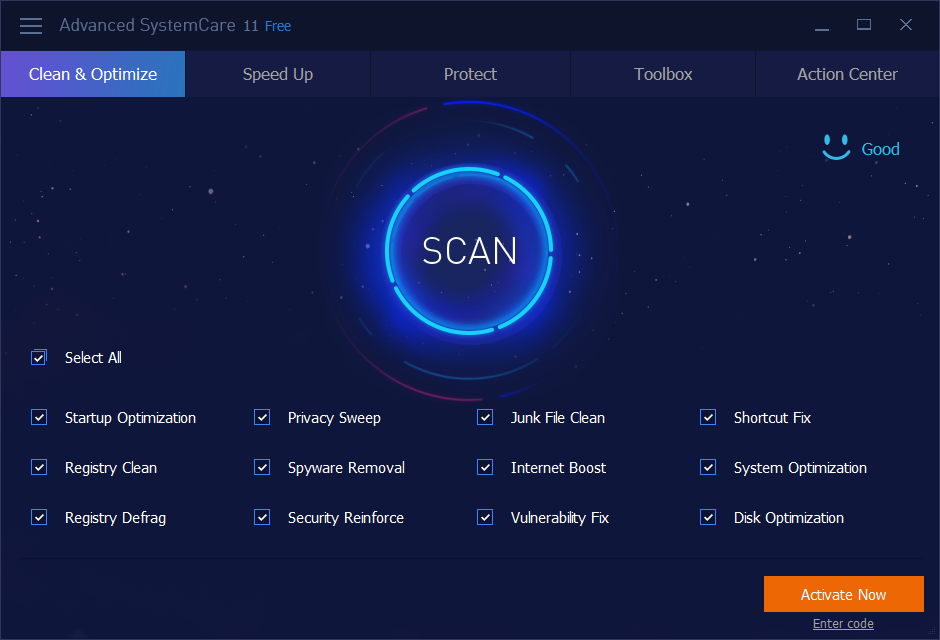Advanced SystemCare Pro 12.6 Key gratuito 2019