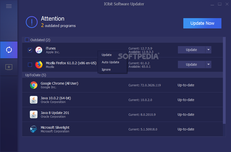 Free  Iobit Software Updater Pro Key 2019