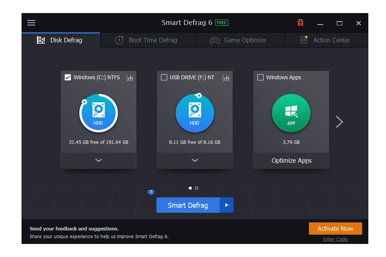 IObit Smart Defrag 6.7 Build 26 With Full Crack  Key Free Download