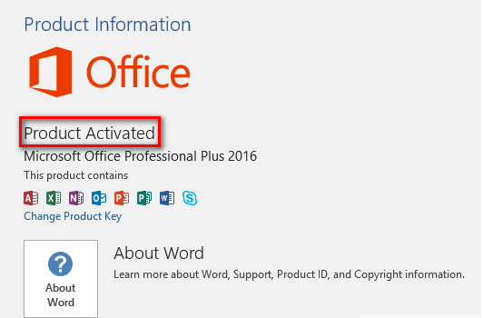 Free Microsoft Office 2016 Product Key 2020 100% Working