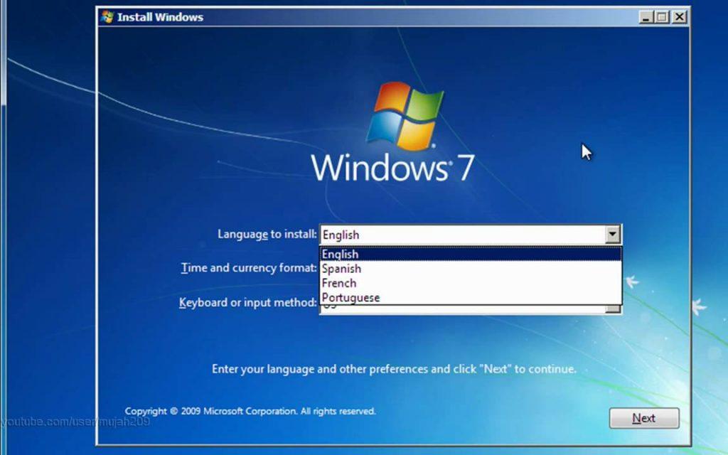 Descarga gratuita de Windows 7 de Microsoft