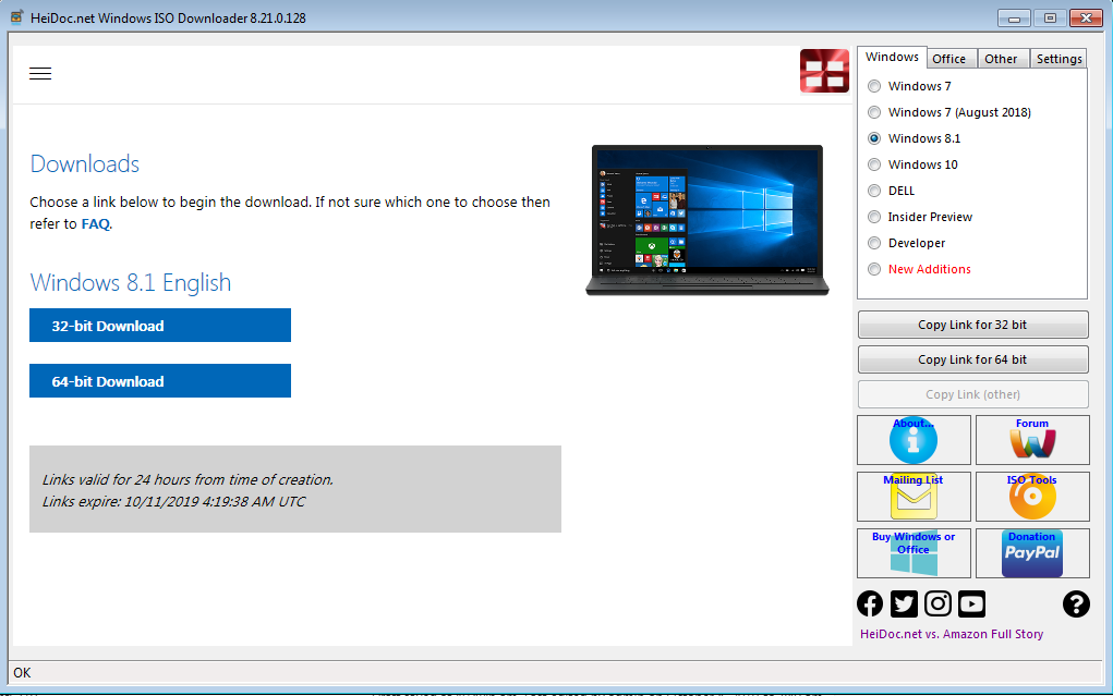 Descarga gratuita de Windows 8 2