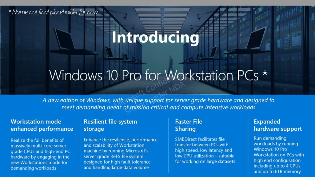 Windows 10 Pro for Workstations Key for Free